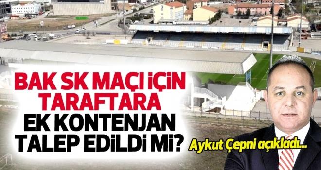 Samsunspor Haberleri | BAK SK maçı için taraftara ek kontenjan talep edildi mi?