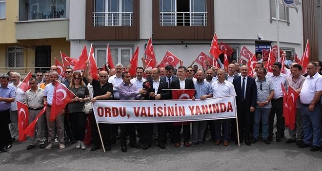 STK'lardan ValiYavuz'a Destek
