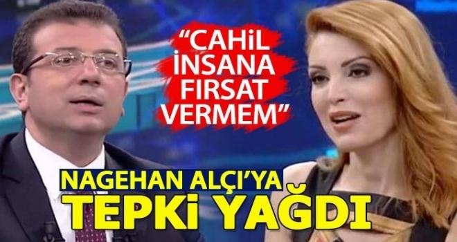 Nagehan Alçı'nın Ekrem İmamoğlu'na sorduğu sorular