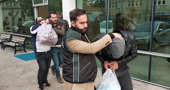 Samsun'da uyuşturucu ticaretinden 3 kişi tutuklandı