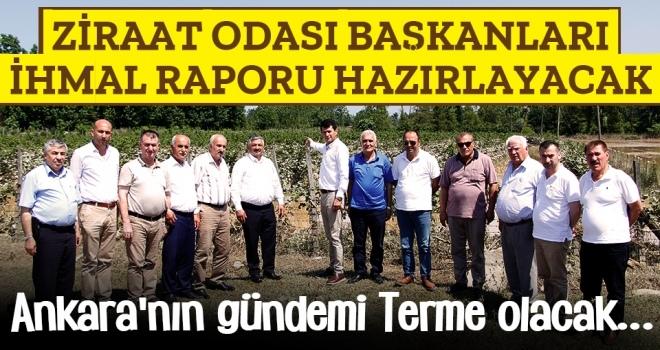 Terme'deki İhmalin Faturası Ankara'ya Gönderilecek