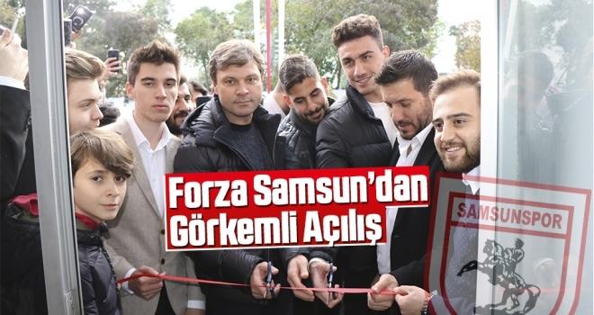 Forza Samsun'dan Görkemli Açılış