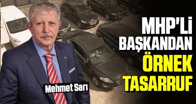 MHP'li BaşkandanÖrnek Tasarruf