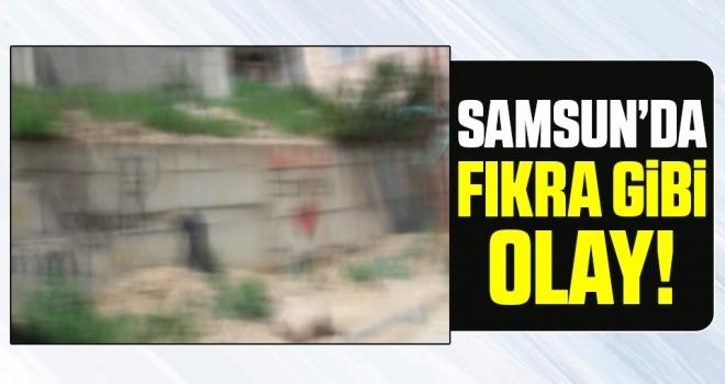 Samsun'daFıkra Gibi Olay