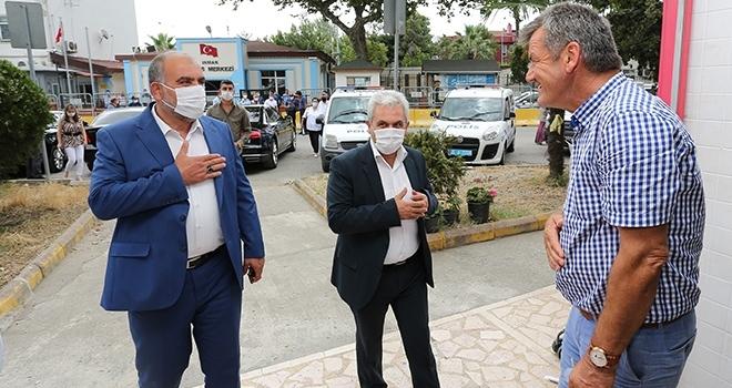 Başkan Sandıkçı: Salgın riski son bulana kadar mücadeleye devam