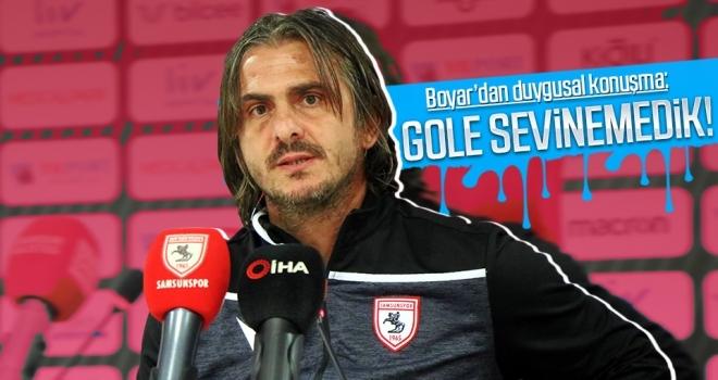 Recep Sermet Boyar'dan duygusal konuşma: Gole sevinemedik!