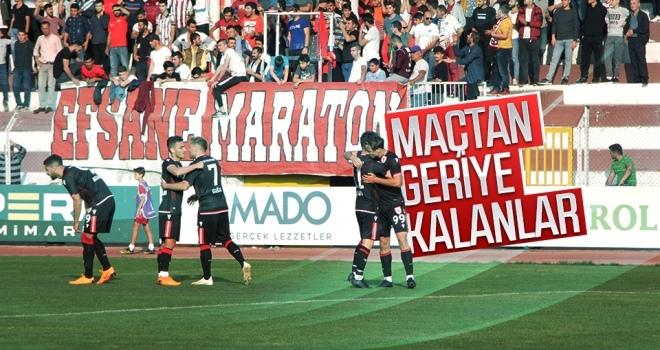 İnegölspor - Yılport Samsunspor maçından geriye kalanlar