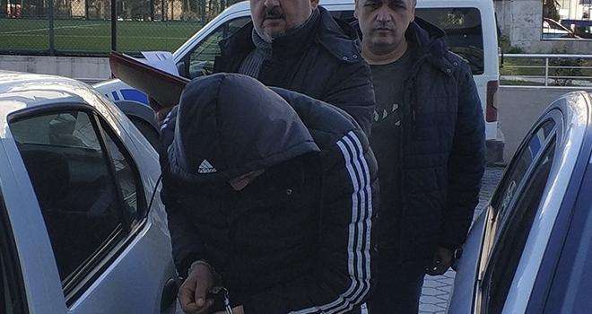 Samsun'da Kamyonet Hırsızlığına Gözaltı