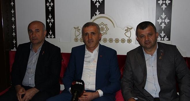 Samsun'da anlamlı buluşma