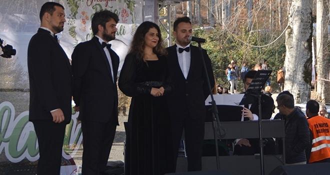 Nebiyan Dağı'nda büyüleyen konser