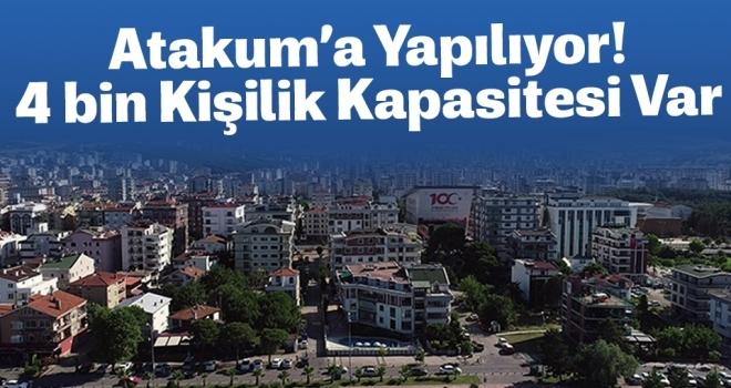 Atakum'a 4 bin kişilik öğrenci yurdu yapılacak