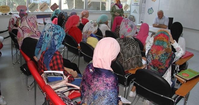 Bafra'da Yaz KurslarıDevam Ediyor