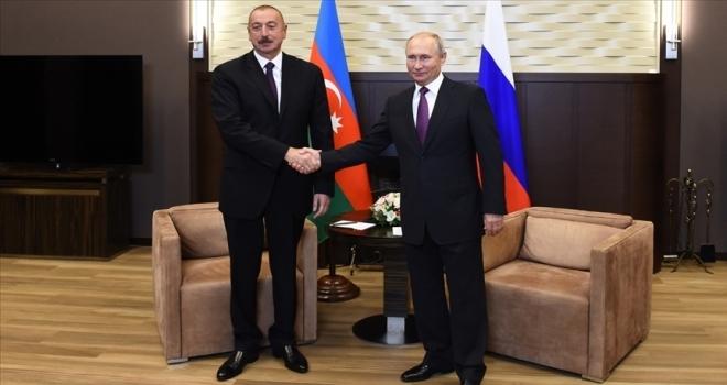 Putin, Aliyev ve Paşinyan Moskova'da Dağlık Karabağ konusunu görüşecek