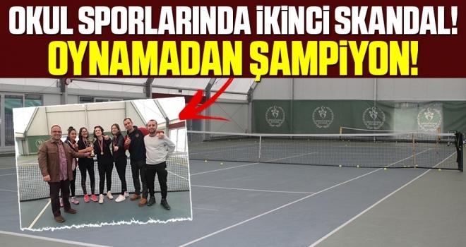 Okul Sporlarında İkinci Skandal! Oynamadan Şampiyon