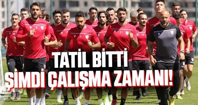 Samsunspor'da Tatil Bitti Şimdi Çalışma Zamanı!