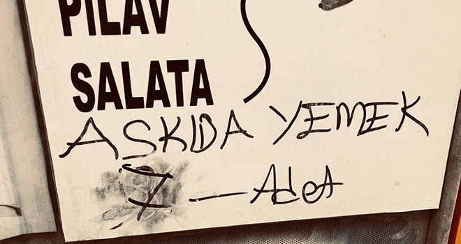 Sinop'ta 10 liraya 'askıda yemek'