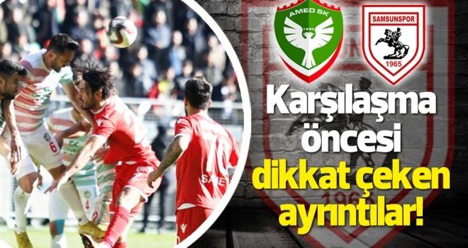 Amed Sportif Faaliyetler - Yılport Samsunspor maçı öncesi dikkat çeken ayrıntılar