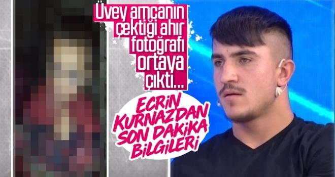 Ecrin Kurnaz'dan son dakika bilgileri geliyor! Müge Anlı'da üvey amcanın çektiği ahır fotoğrafı ortaya çıktı...