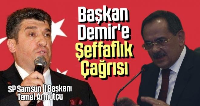 Başkan Demir'eŞeffaflık Çağrısı