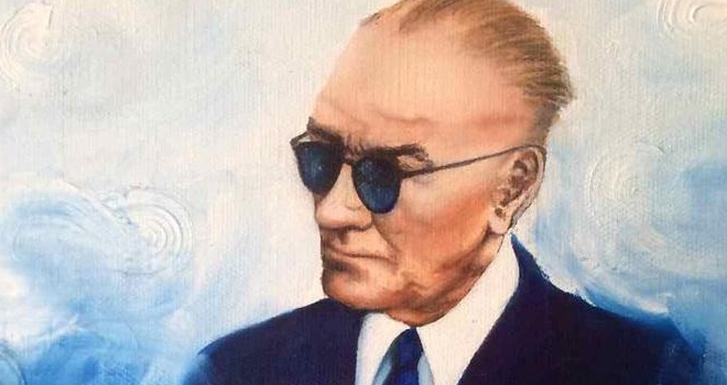 Atatürk'ün çocuğuyum gururluyum