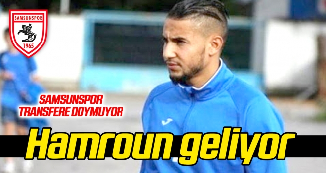 Samsunspor transfere doymuyor! Jugurtha Hamroun geliyor...