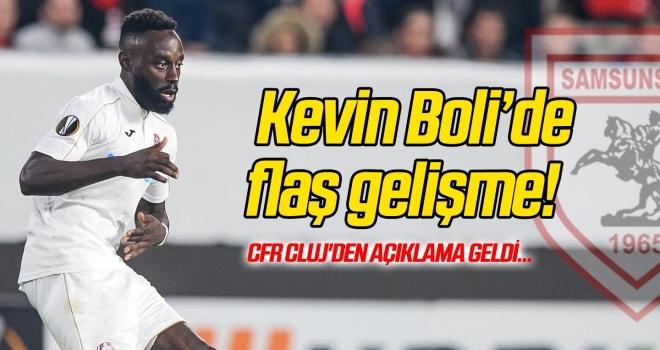 Kevin Boli transferinde flaş gelişme! CFR Cluj'den açıklama geldi...