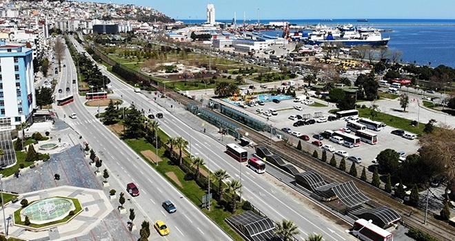 Samsun'da taşıt sayısı 365 bin 197 oldu