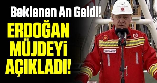 Beklenen An Geldi! Cumhurbaşkanı Erdoğan Müjdeyi Açıkladı!