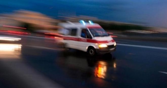 Samsun'da 2. kattan düşen şahıs ağır yaralandı