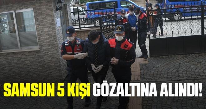 Jandarmadan uyuşturucu tacirlerine operasyon: 5 gözaltı