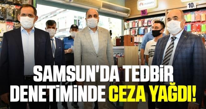 Samsun'da TedbirDenetiminde Ceza Yağdı!