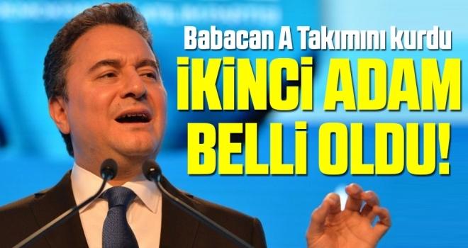 Ali Babacan A Takımı'nı kurdu DEVA Partisi'nin ikinci adamı belli oldu