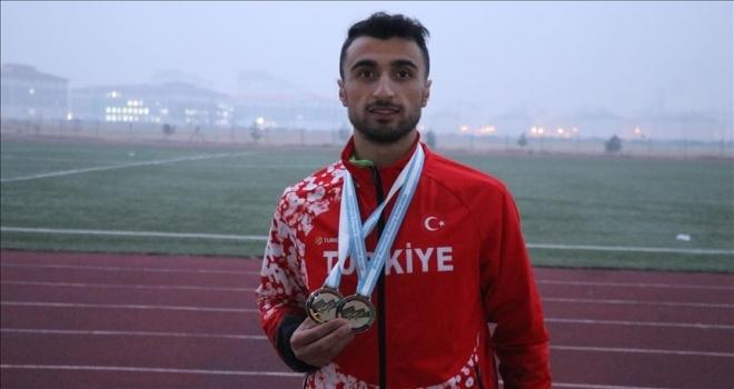 Milli atlet Sebih Bahar hayalindeki dünya şampiyonluğu için koşuyor