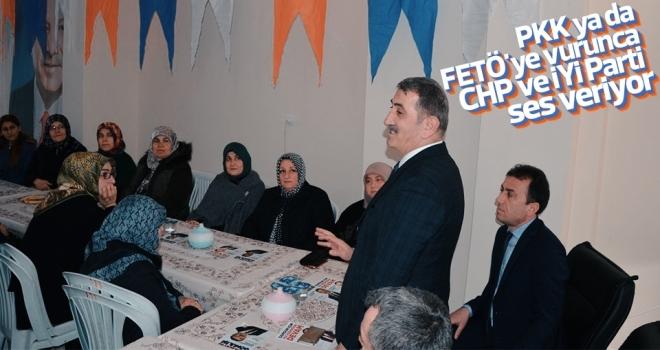 PKK ya da FETÖ'ye vurunca CHP ve İYİ Parti ses veriyor