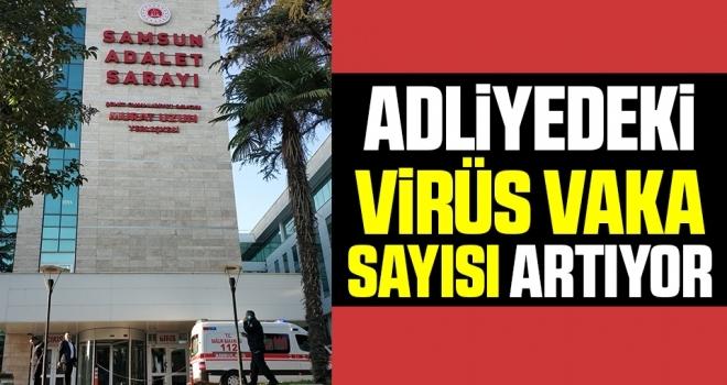 Adliyedeki VirüsVaka Sayısı Artıyor