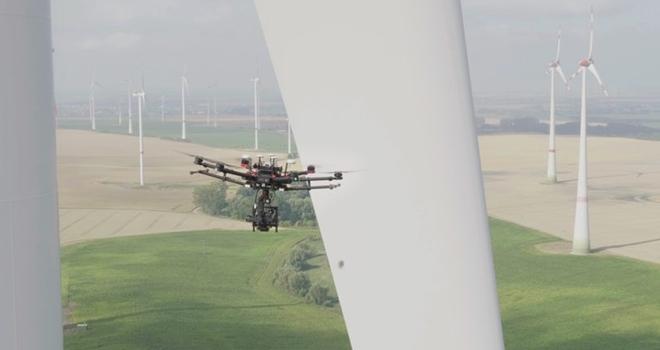 Rüzgar Türbinlerinin Kanat Bakımları İnsansız Hava Araçlarına Emanet