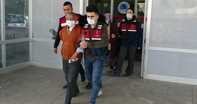 Samsun'da Jandarmadan uyuşturucu operasyonu: 4 gözaltı
