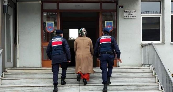 5 yıl hapis cezası olan kadın JASAT'tan kaçamadı