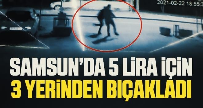 5 lira vermeyen güvenlik görevlisini bıçaklayarak hastanelik etti, yakalanınca