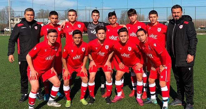 Samsunspor U16 ilk beraberliğini aldı