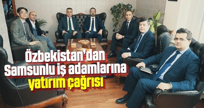 Özbekler'denYatırım Çağrısı