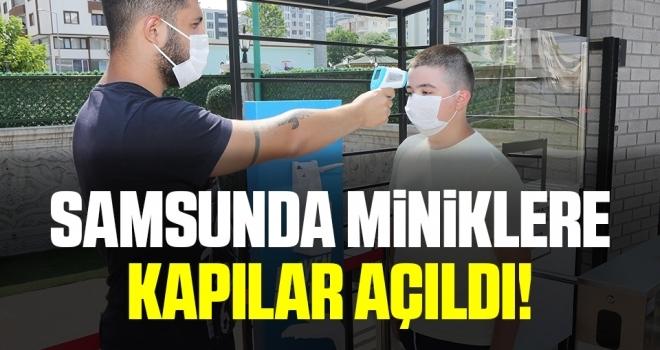 Samsun'da Miniklere Kapılar Açıldı!