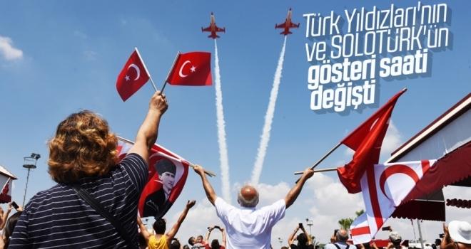 Türk Yıldızları'nın saati değişti
