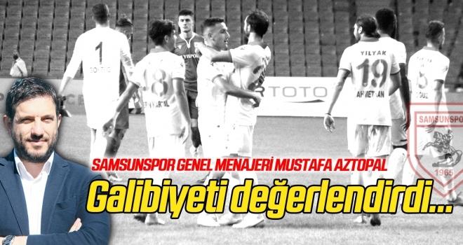 Mustafa Aztopal Ümraniyespor galibiyetini değerlendirdi