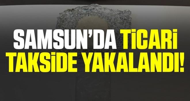 Samsun'da Ticareti takside uyuşturucuyla yakalandı
