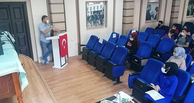 Kavak'ta destekleme veyetiştirme kursu açıldı
