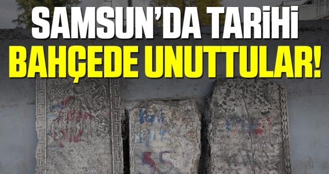 Samsun'da Tarihi BahçedeUnuttular!