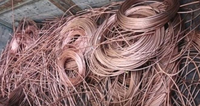 40 bin liralıkbakır tel çalındı