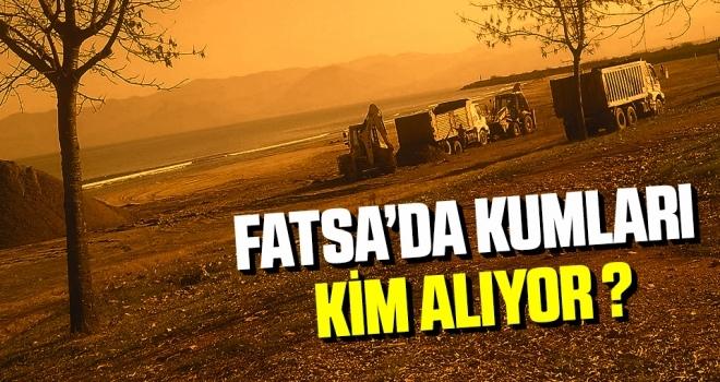 Fatsa'da KumlarıKim Alıyor?