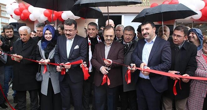Atakum'da 3 Sosyal Projeye Kurdele Kesildi